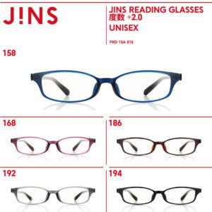 JINSのリーディンググラス